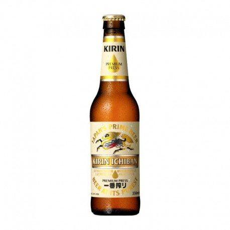 Kirin Ichiban JAPANSKO PIVO Kirin (Alk.5%) 330 ml