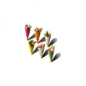 LISTOVI OD SOJE ZA Maki Sushi - KURKUMA ŽUTI (20 LISTOVA) 80 g