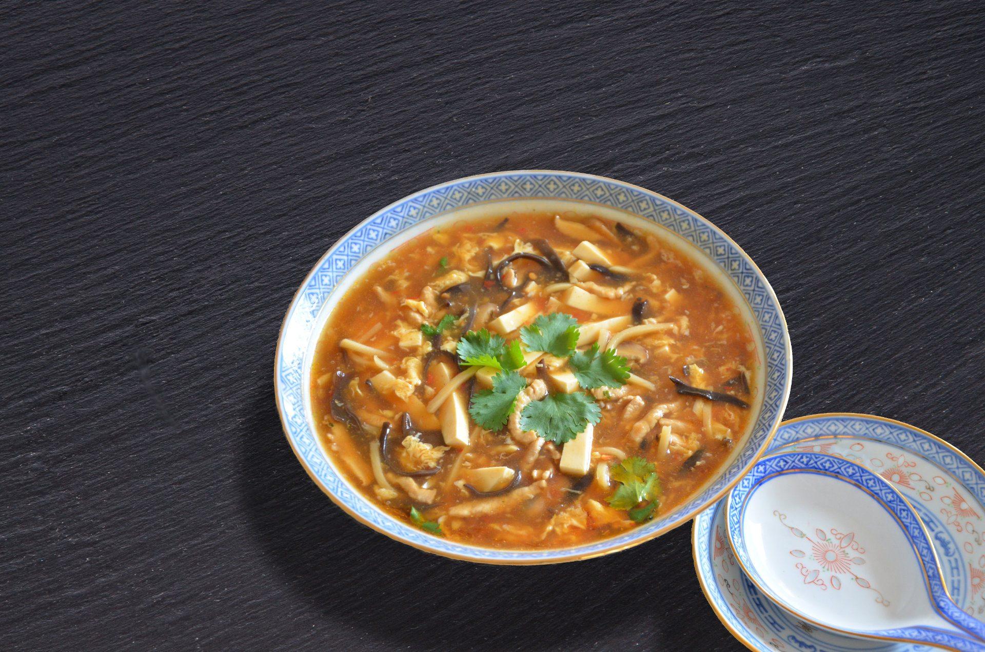 Kineska ljuto kisela juha